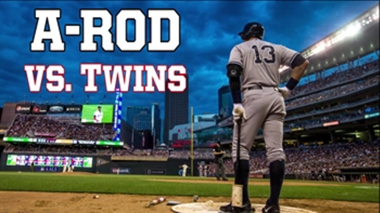 A-Rod dominated Twins during 22-year career