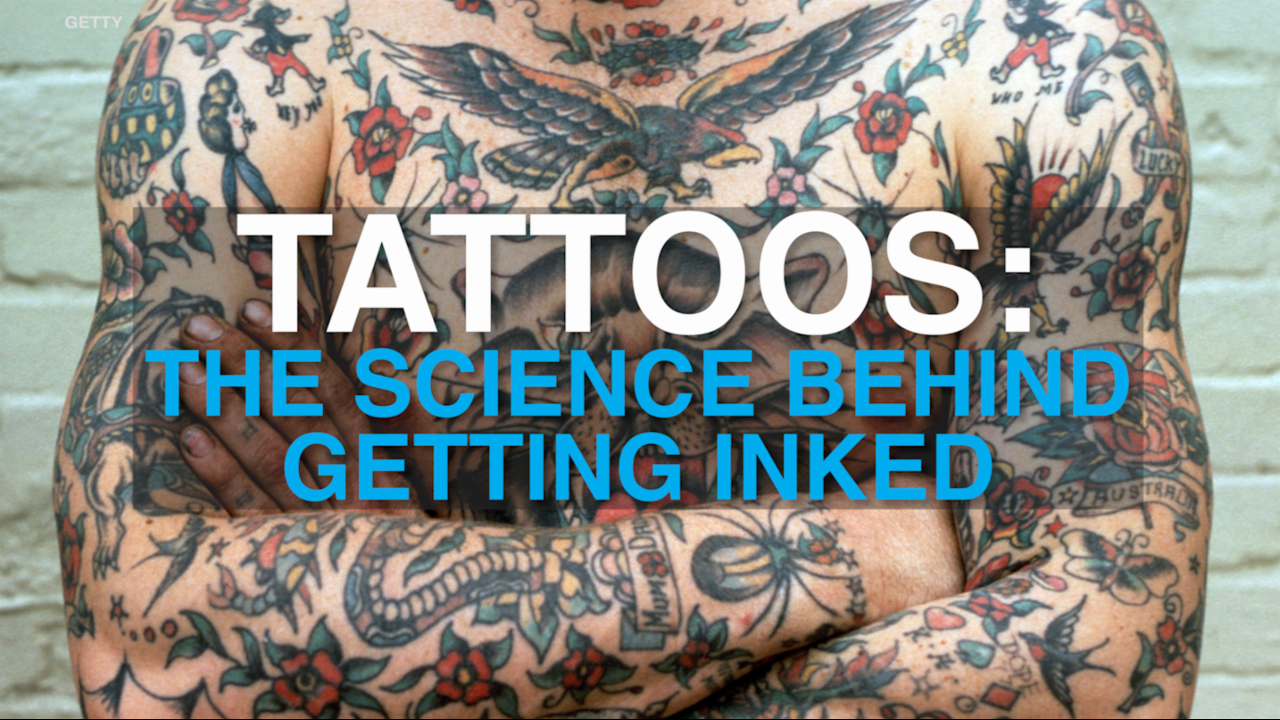 Tattoos: The science behind getting inked