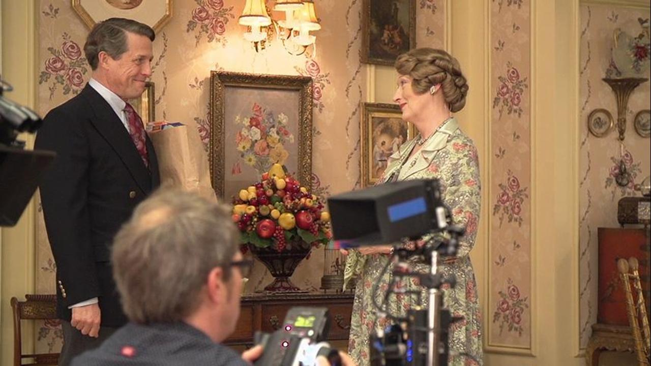 "Hugh Grant Reveals His 'Fear' of Working with Meryl Streep in ""Florence Foster Jenkins"""