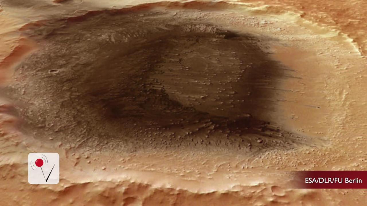Scientists Have Found The Spot Where Life Could Exist On Mars