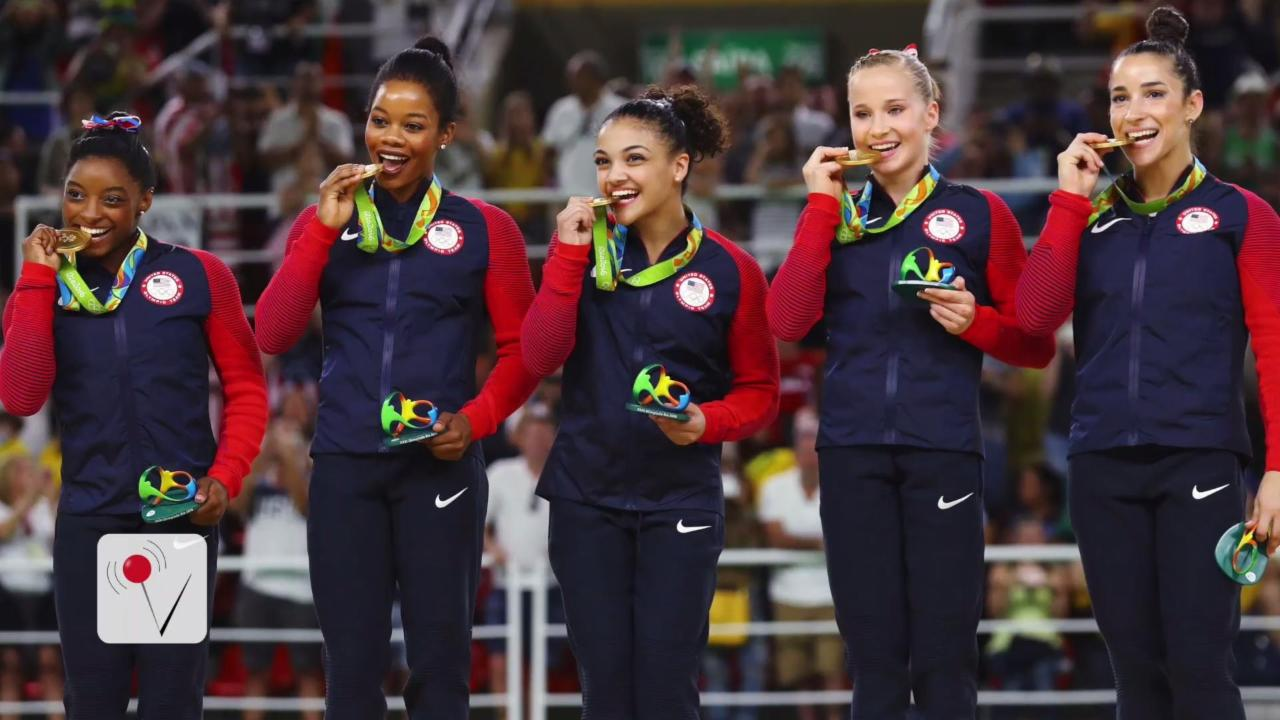 Why Do Olympians Bite Their Medals?