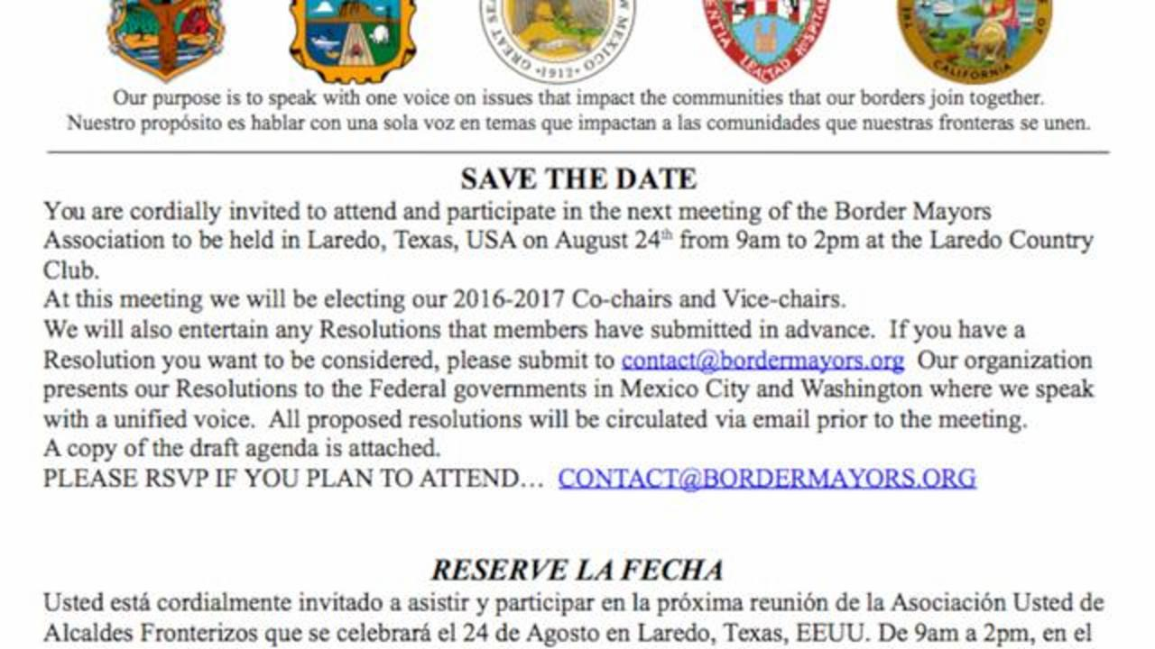 Arizona Mayor Refuses To Attend Event After Receiving Invitation Written In 'Spanish/Mexican'