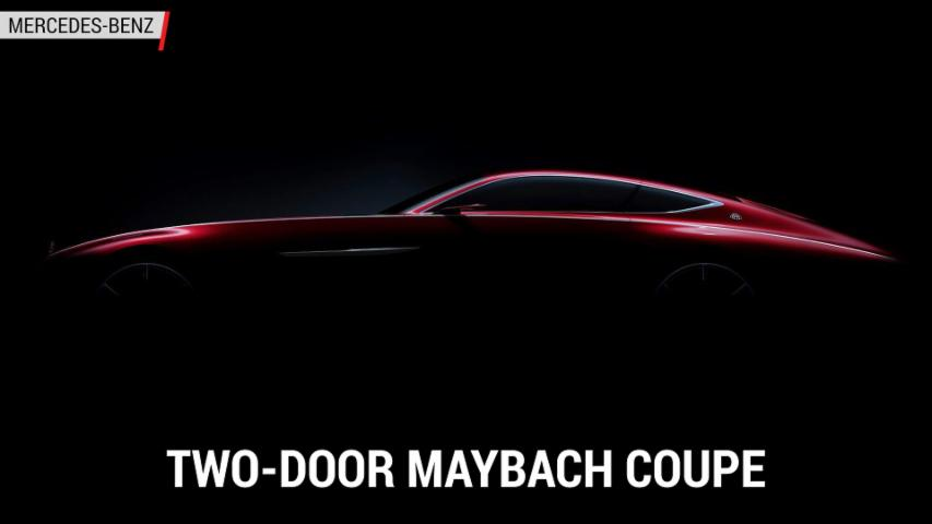 Maybach Coupe Teased by Mercedes-Benz | Autoblog Minute