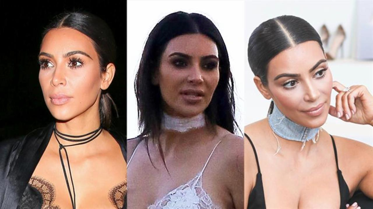 Kim Kardashian West's Choker Game Is So on Point