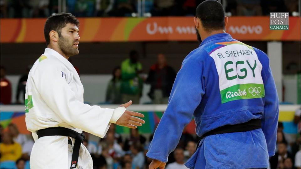 Islam El Shehaby, Egyptian Judo Athlete, Refuses Israeli Or Sasson's Handshake