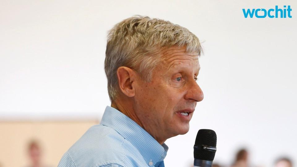 Could Gary Johnson Appear on Main Debate Stage?