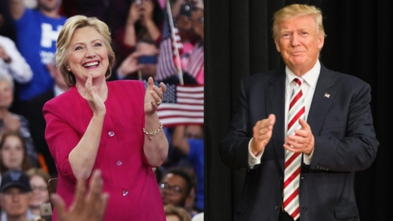 Poll: Clinton Leads Trump in 2 Swing States