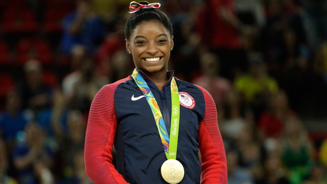 U.S. Gymnast Simone Biles Adds Third Gold to Rio Haul
