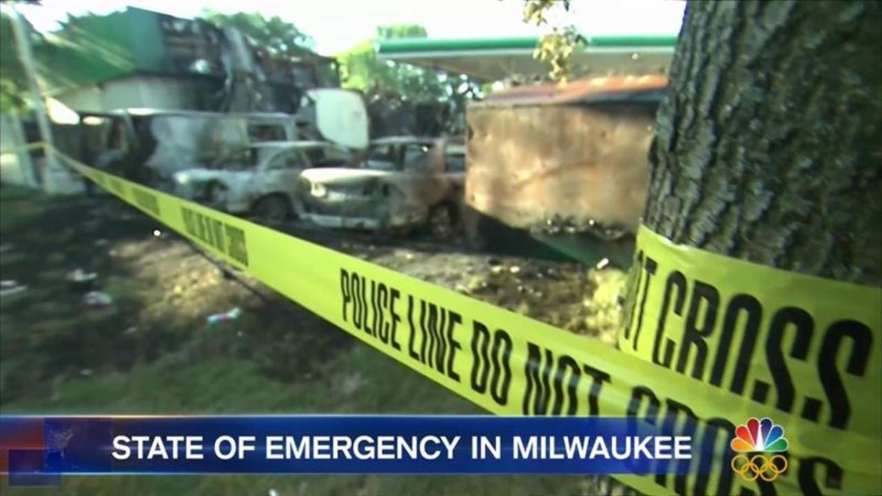 Violent Night in Milwaukee After Fatal Police Shooting of Armed Man