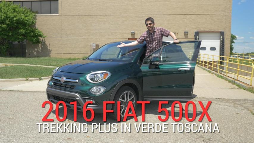 2016 Fiat 500X Trekking Plus | Long-Term Unboxing