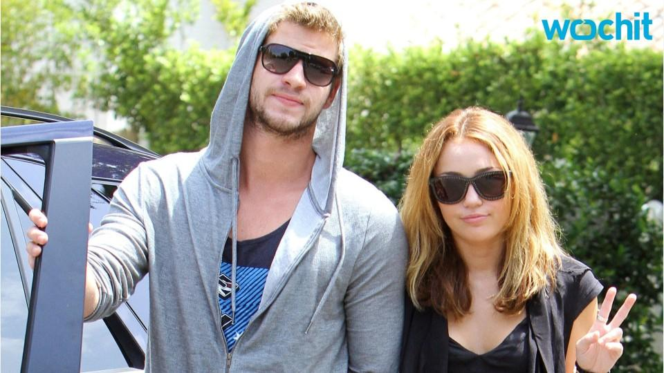 Miley Cyrus and Liam Hemsworth Attend Crazy Party