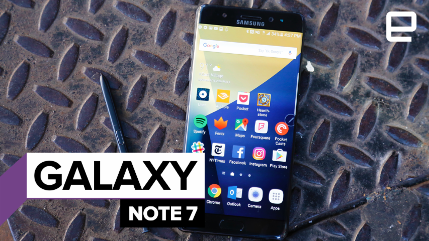Samsung Galaxy Note 7: Review