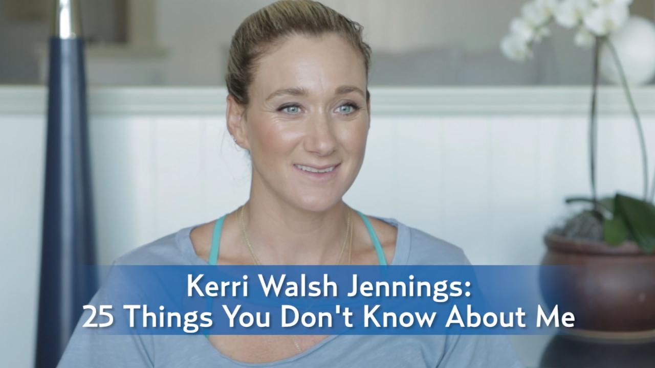 Olympian Kerri Walsh Jennings: 25 Things You Don't Know About me