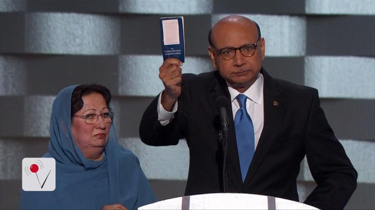 Khizr Khan Challenges Trump to Take Citizenship Test