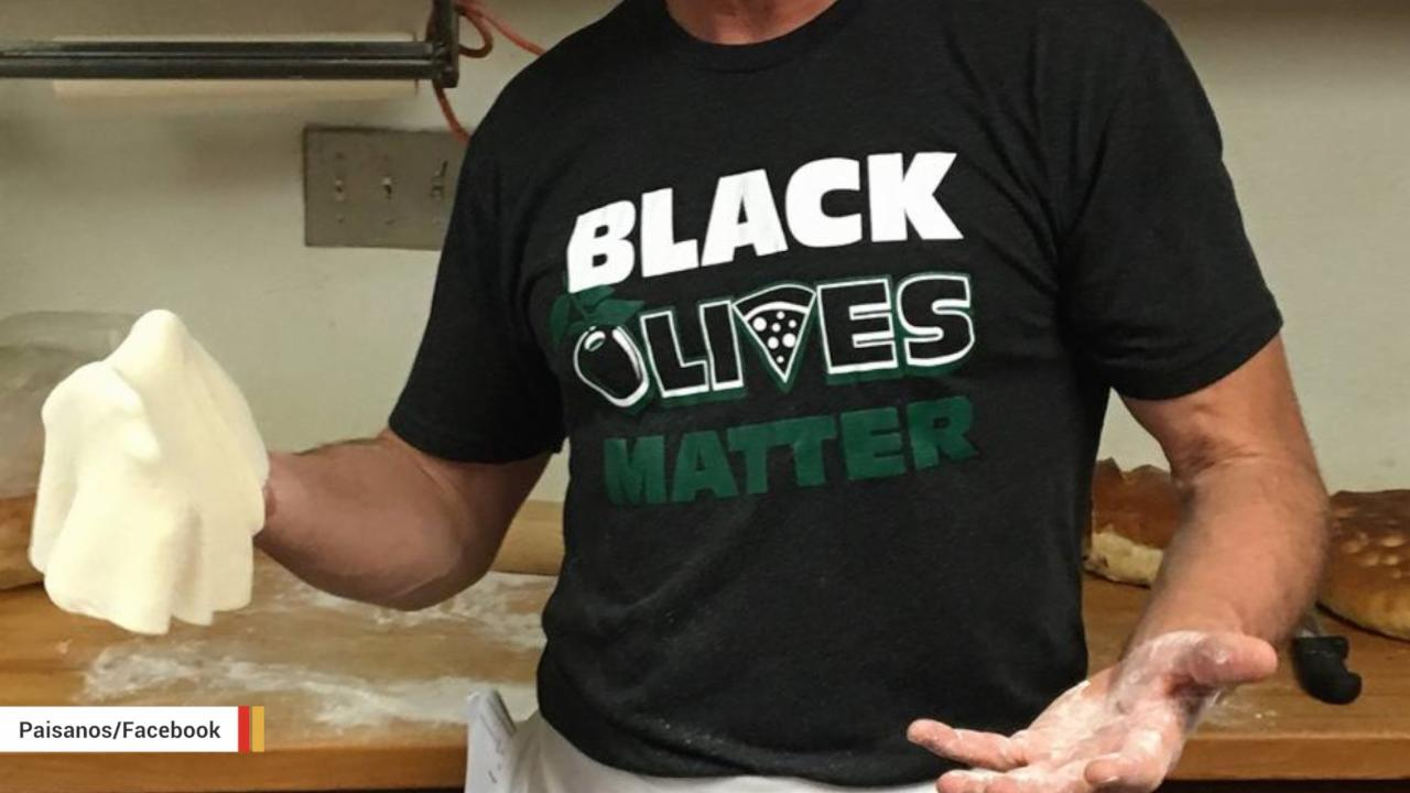 New Mexico Restaurant Criticized For Selling 'Black Olives Matter' Merchandise