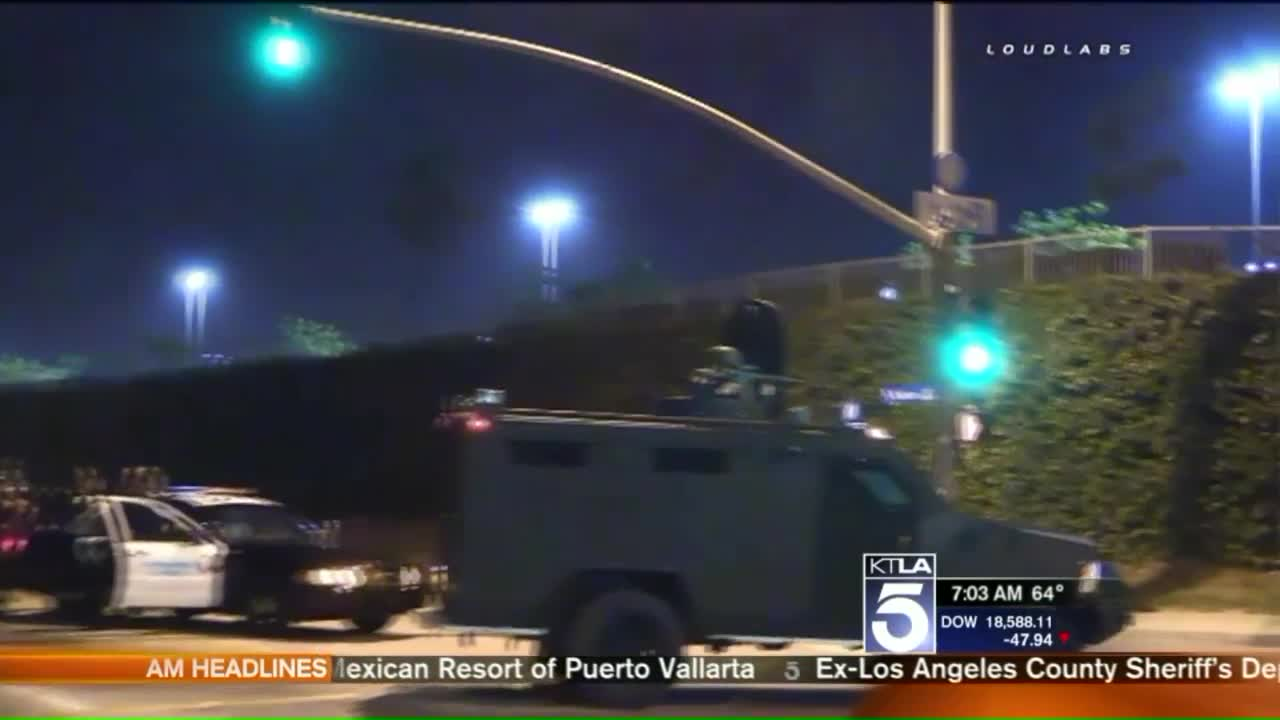 Men Spotted Wearing Military Gear, Carrying Rifles in California Neighborhood