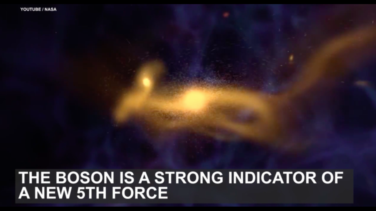 Scientists believe they have discovered the 5th force of nature