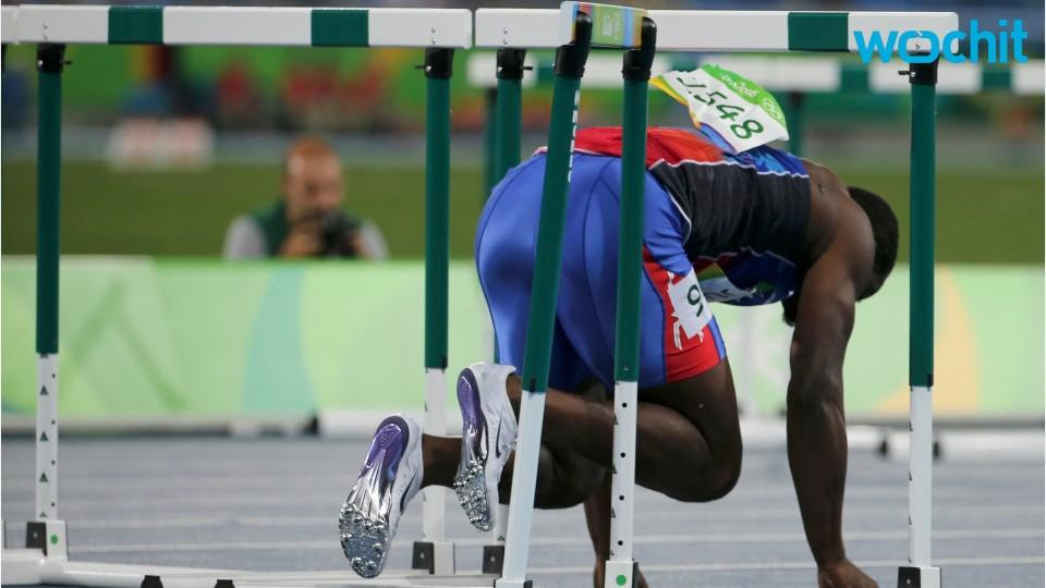 Hurdler Jeffrey Julmis Embarrassed By Semis Hurdle Crash