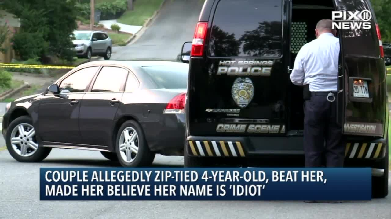 Couple Allegedly Beat 4-Year-Old, Made Her Believe Her Name is 'Idiot'