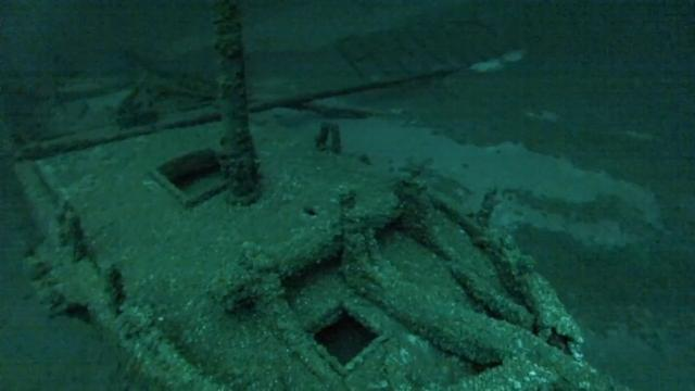 Retirees Find One of the Oldest Shipwrecks in Great Lakes