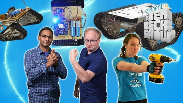 The Ben Heck Show - Episode 251 - Ben Heck's Hackbot Wars Part 3: Final Fight