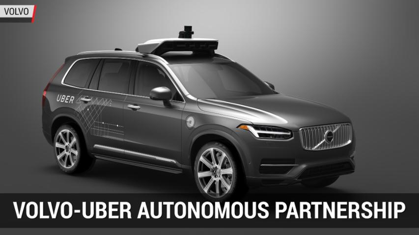 Volvo and Uber Partner to bring Autonomous Tech to Market | Autoblog Minute