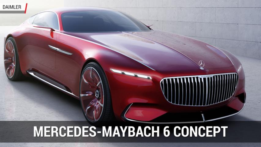 Vision Mercedes-Maybach 6 Concept | Autoblog Minute