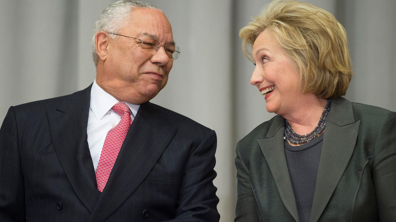Hillary Clinton Says Colin Powell Advised Her To Use Personal Email