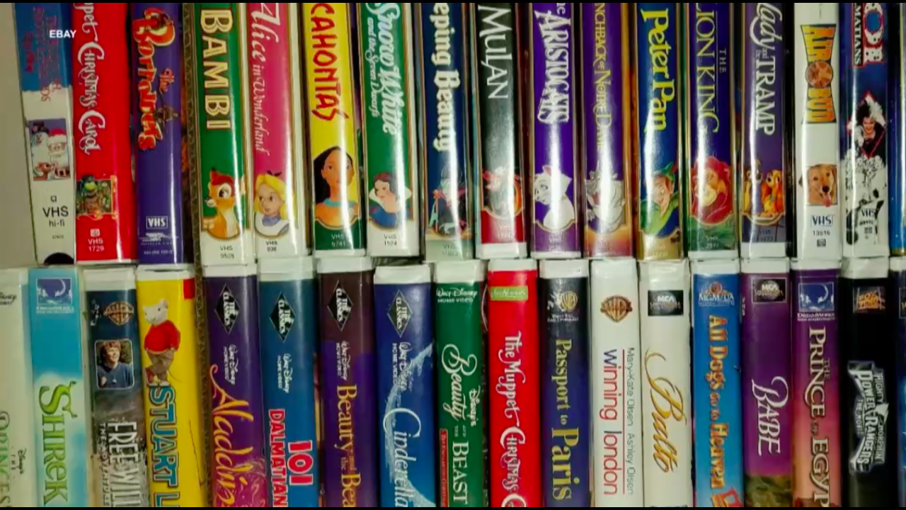 Here's how much your favorite VHS are worth now