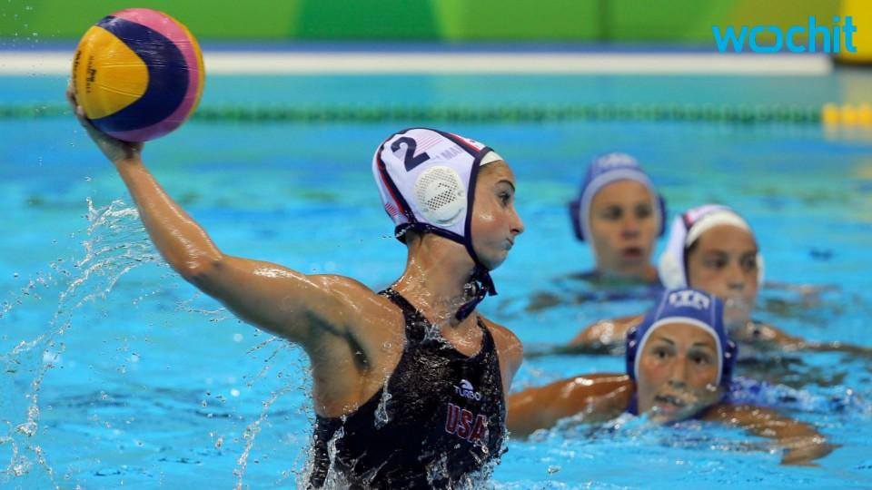USA Wins Gold Medal in Women's Water Polo