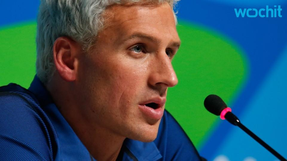 Ryan Lochte Aplogizes For His Behavior...Sort Of