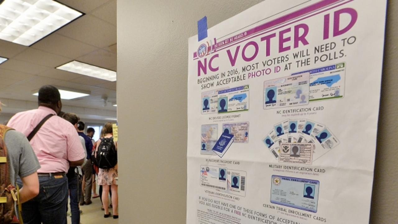 North Carolina Is Trying To Keep Black People From Voting