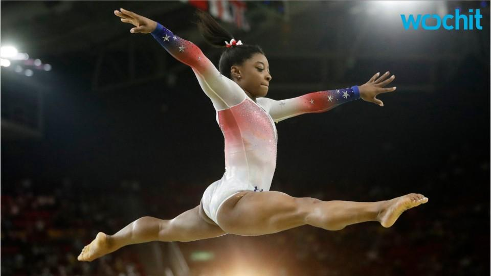 Simone Biles Will Carry The U.S. Flag In Closing Ceremony