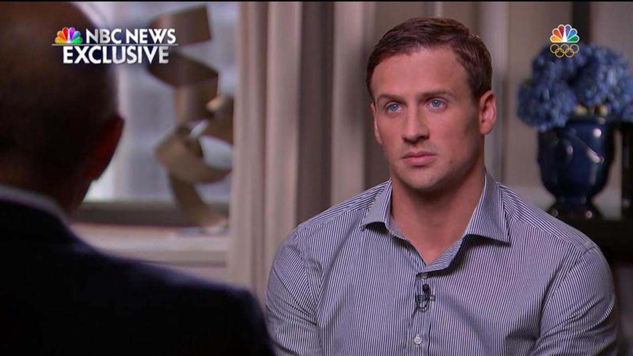 Emotional Ryan Lochte to Matt Lauer: 'I Let My Team Down'
