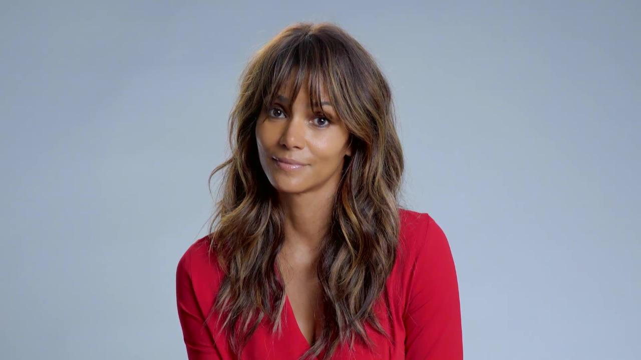 Halle Berry Presents a Dramatic Interpretation of Britney Spears's 'Oops, I Did It Again'