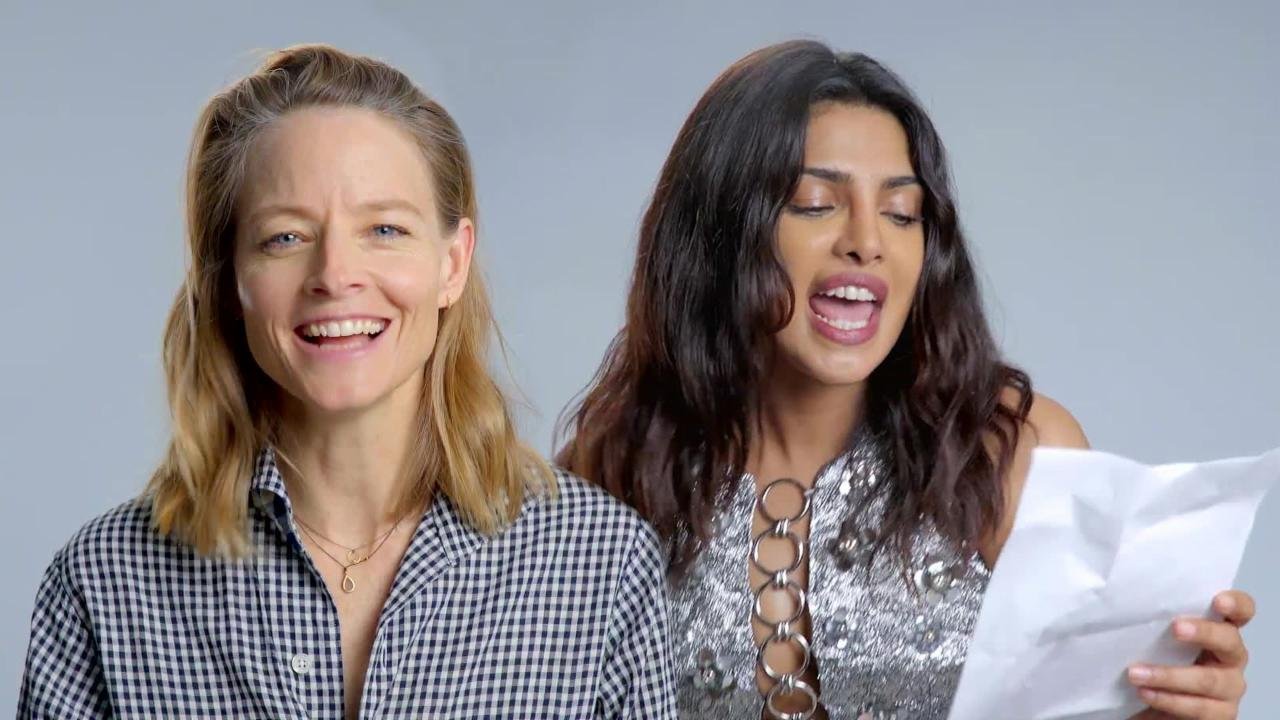 Actresses Priyanka Chopra and Jodie Foster Reinterpret 'Toxic' by Britney Spears