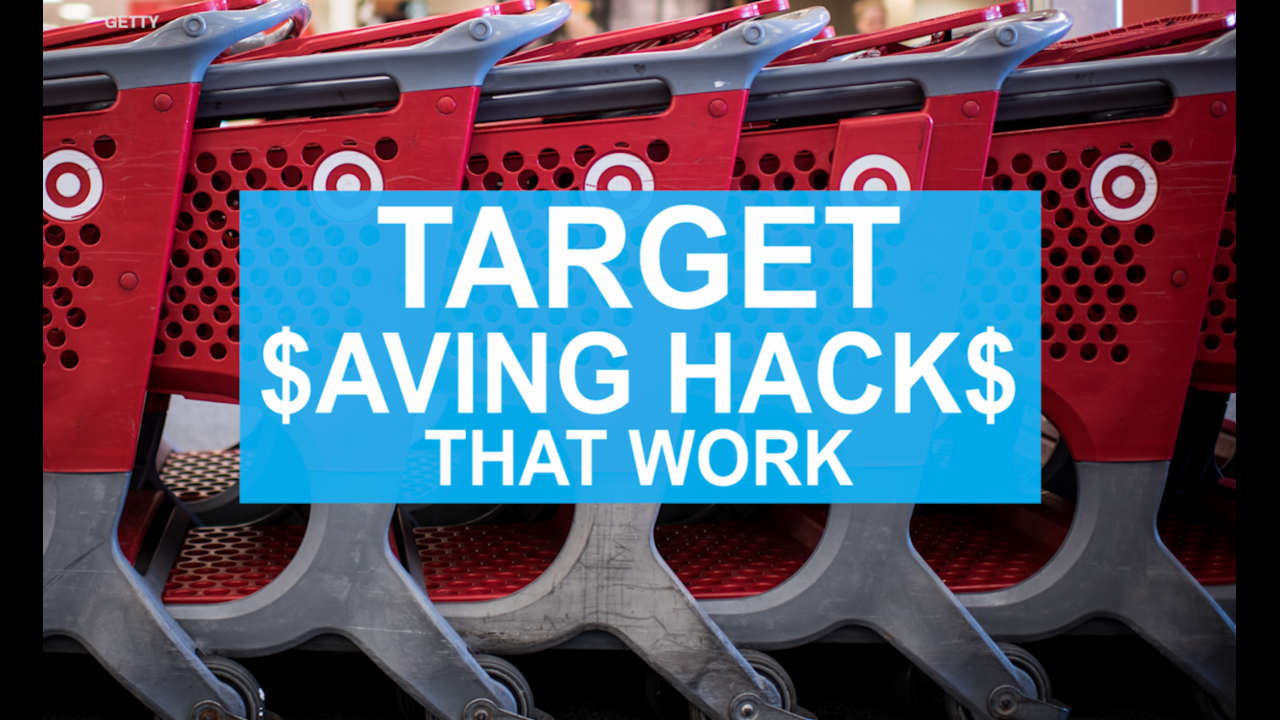 Target saving hacks that work