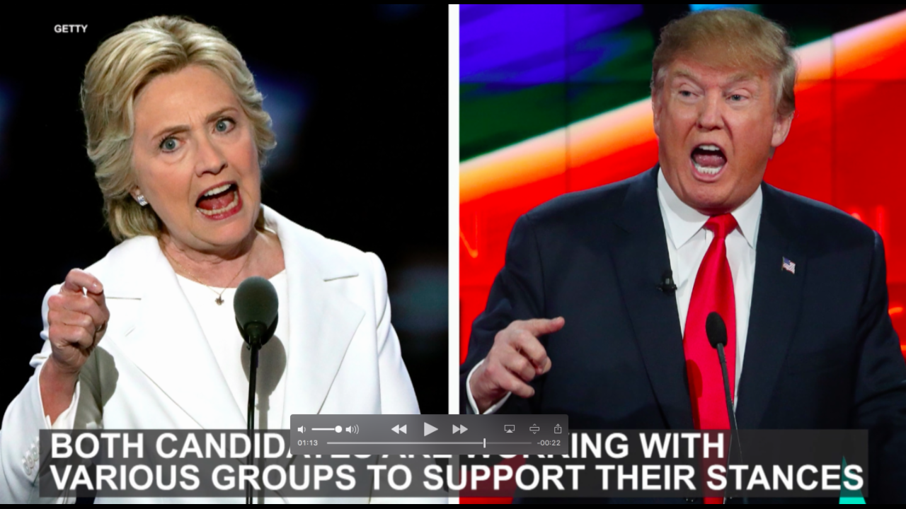 Where Donald Trump and Hillary Clinton stand on gun control