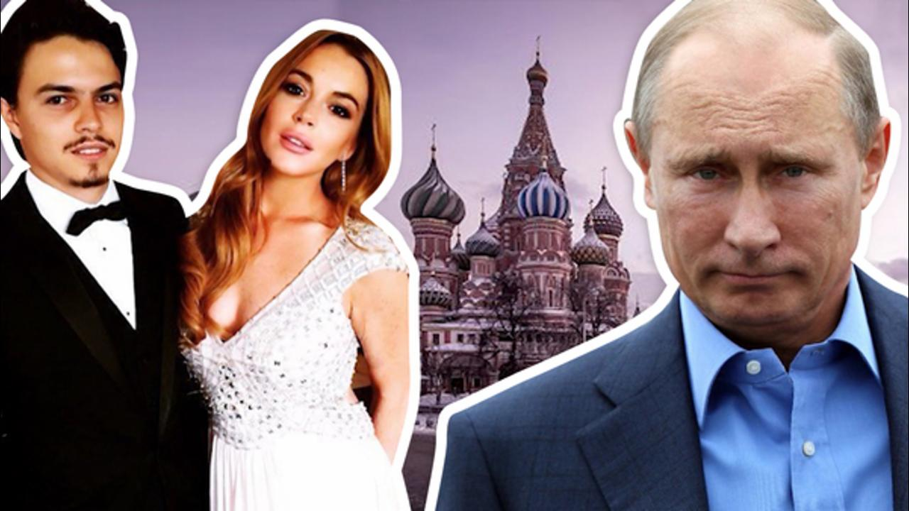 Lindsay Lohan Demands to Meet Vladimir Putin