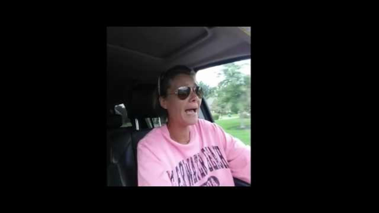 Mother Shows Hilarious Reaction to Kids First Day at School