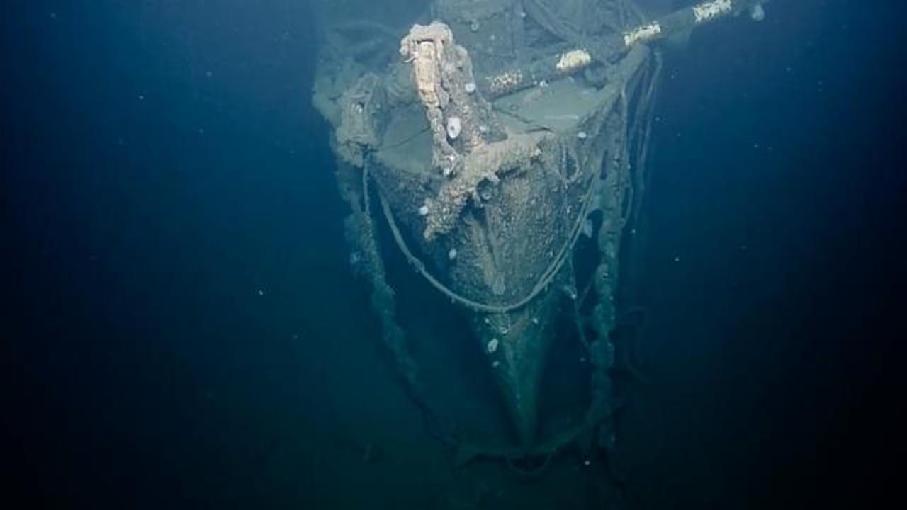 Underwater Camera Provides First Look At USS Independence In 65 Years