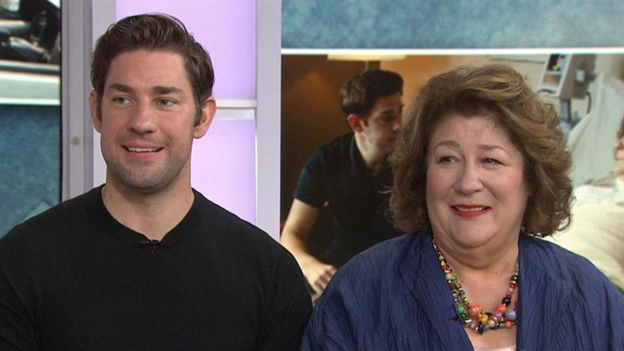 John Krasinski, Margo Martindale are shocked we found their 2002 TV ad!