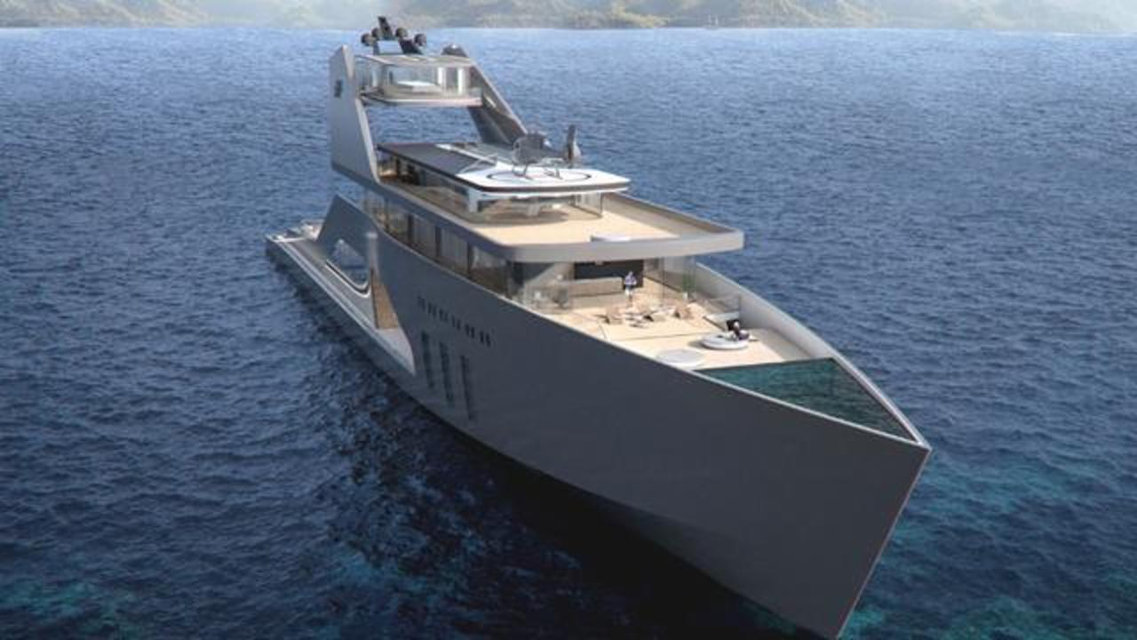 This Mega Yacht Comes With A Private Beach