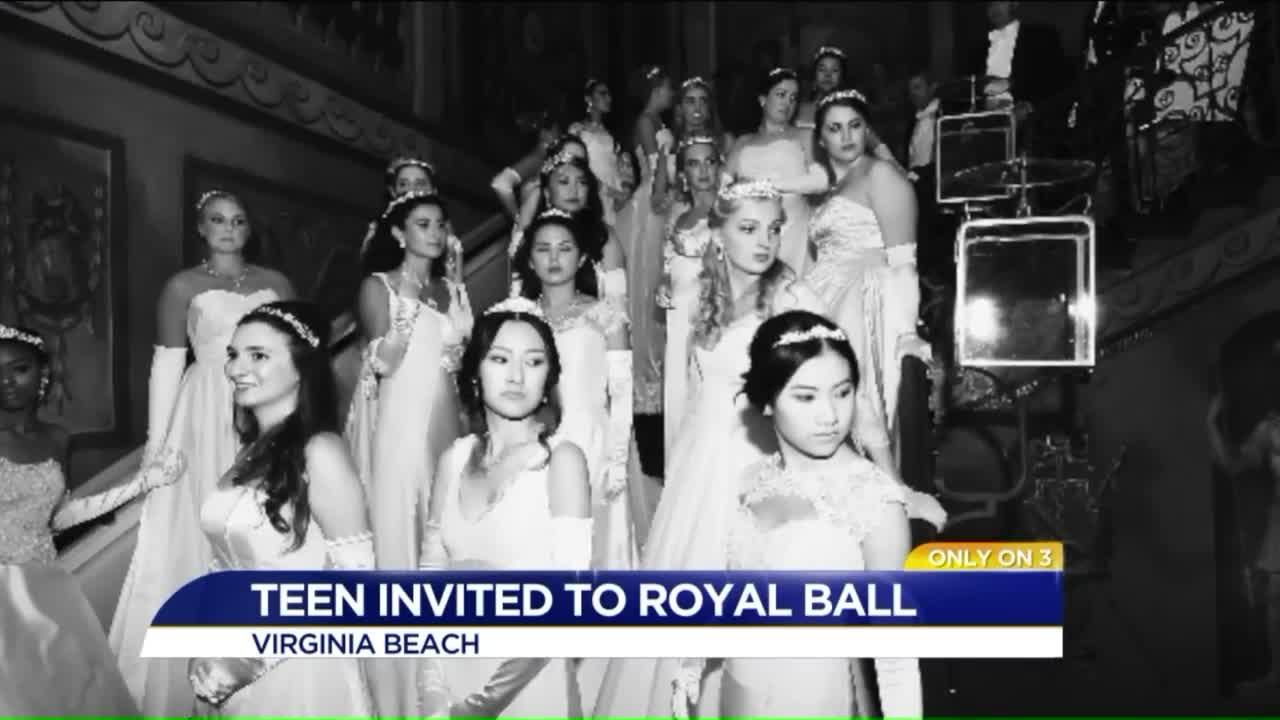 Virginia Teen One of 20 Women in the World Invited to Royal Ball