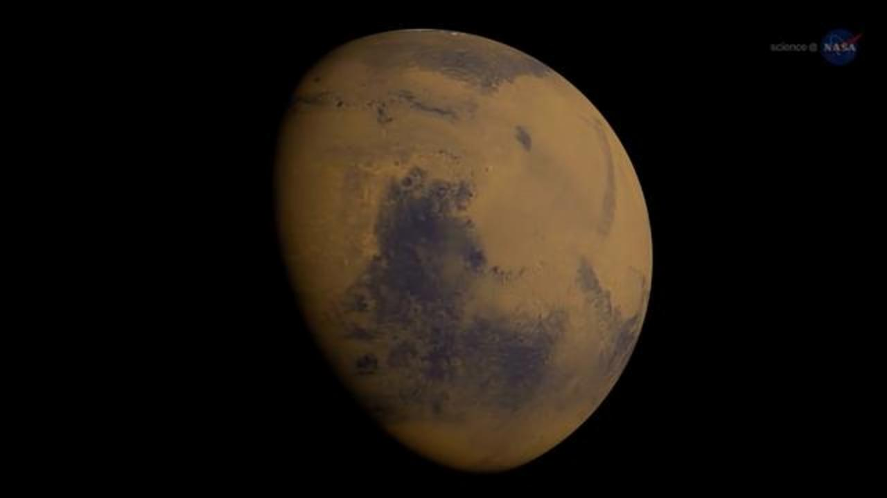 Fossilized Rivers On Mars Suggest Planet Was Warm And Wet In The Past