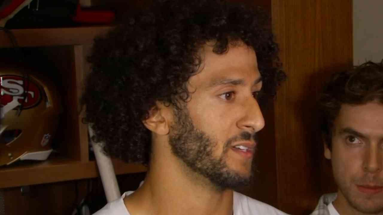 Colin Kaepernick Addresses Media