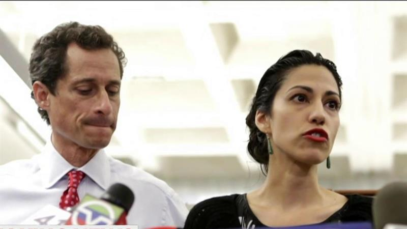 Huma Abedin separates from Anthony Weiner