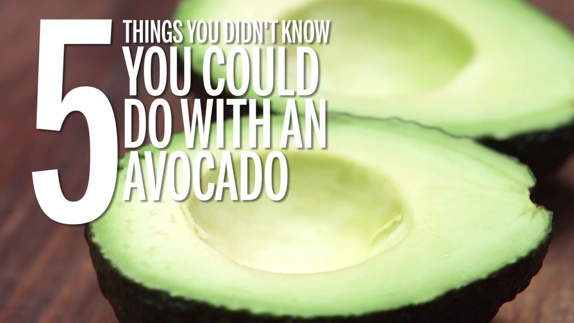 5 Things You Didn't Know You Could Do With an Avocado