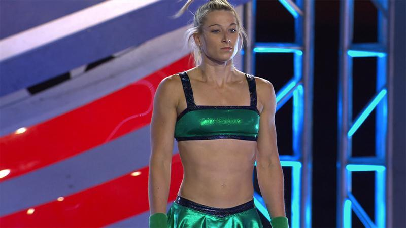 American Ninja Warrior: Jessie Graff Makes History at the National Finals Stage 1