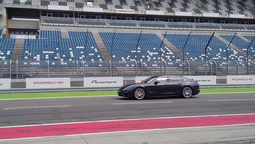 2017 Porsche Panamera Turbo Launch Control